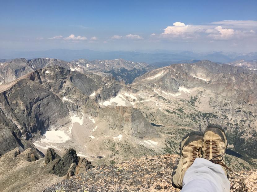 Longs Peak~ The Classic14er