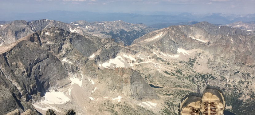 Longs Peak~ The Classic 14er